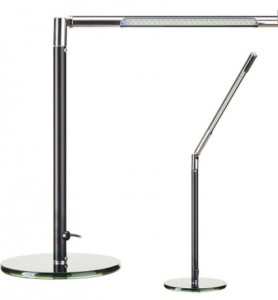 LAMPA LED NA BIURKO ULTRA SLIM Black